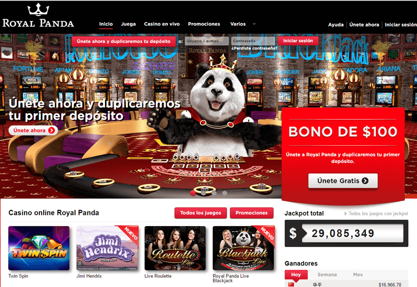 Casino Royal panda