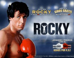 Rocky tragaperras