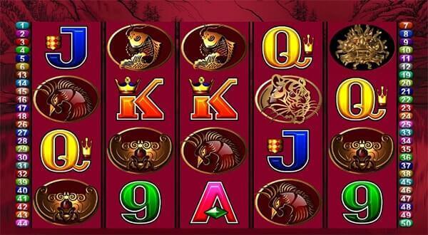 Bono 50 Dragons tragaperras online