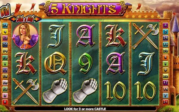 Bono 5 Knights tragaperras online