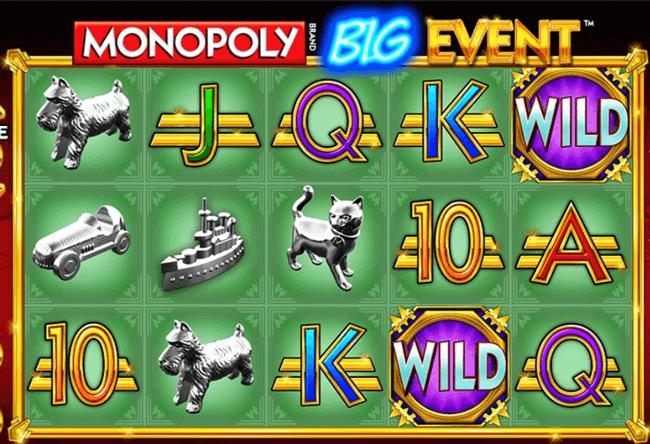 Bono Monopoly Big Event tragaperras online