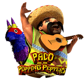 Paco and the popping peppers tragaperras