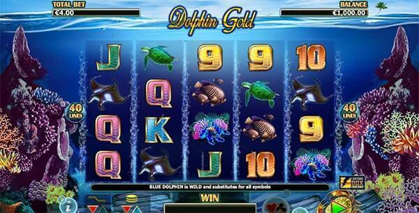 Bono Dolphin Gold tragaperras online
