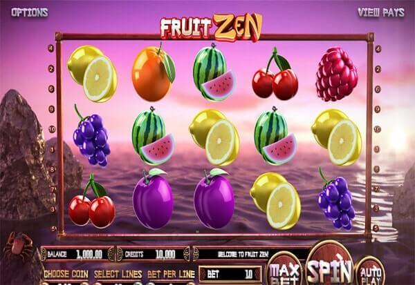 Bono Fruit Zen tragaperras online