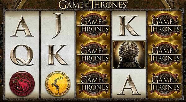 Bono Game of Thrones tragaperras