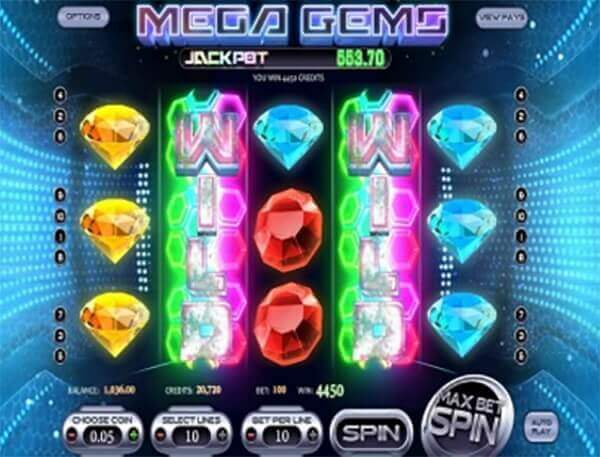 Bono Mega Gems tragaperras online