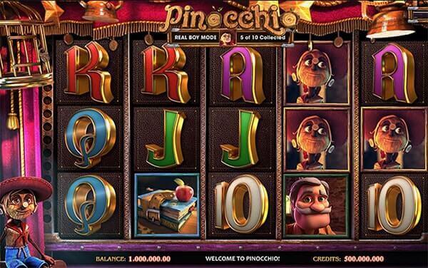 Bono Pinocchio tragaperras online