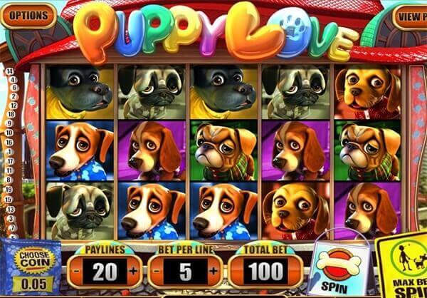 Bono Puppy Love tragaperras online