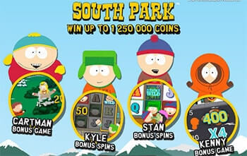 South Park tragaperras online
