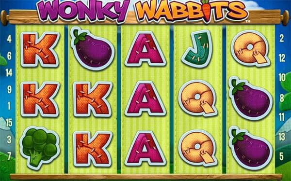 Bono Wonky Wabbits tragaperras online