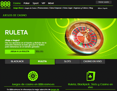 888 casino ruleta
