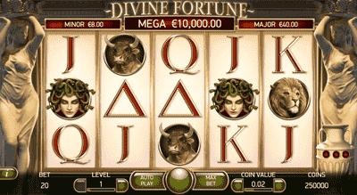 Divine Fortune tragaperras