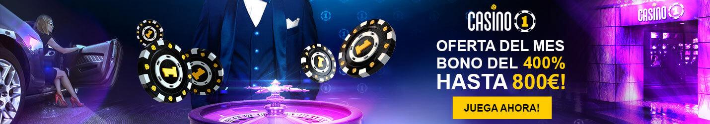 Casino 1 Bono Casino Online Cabecera