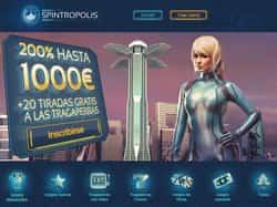 spintropolis casino bono bienvenida