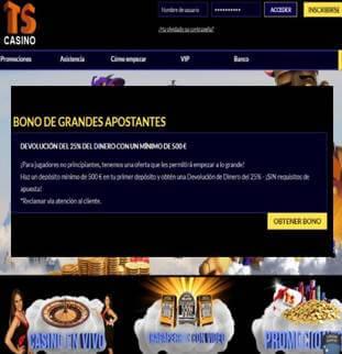Bono de grandes apostadores casino Times Square