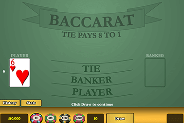 Baccarat de Actual gaming