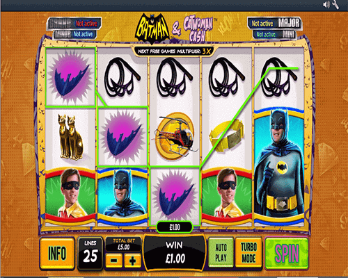 slot Batman & Catwoman Cash