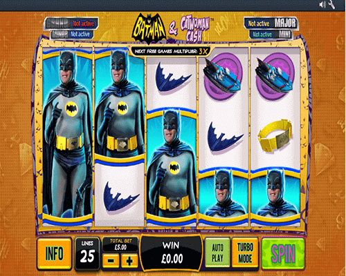 tragamonedas Batman & Catwoman Cash