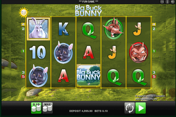 tragamonedas Big Buck Bunny