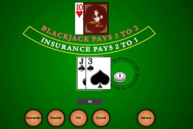 Blackjack de Actual