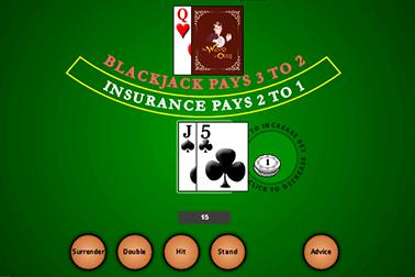 Blackjack de Actual gaming