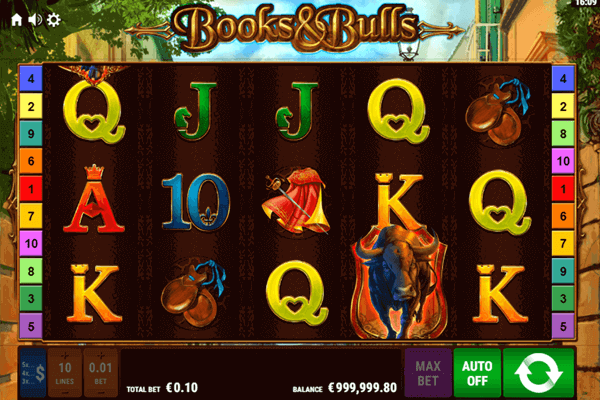 slot Books & Bulls