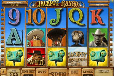 tragaperras Jackpot Rango