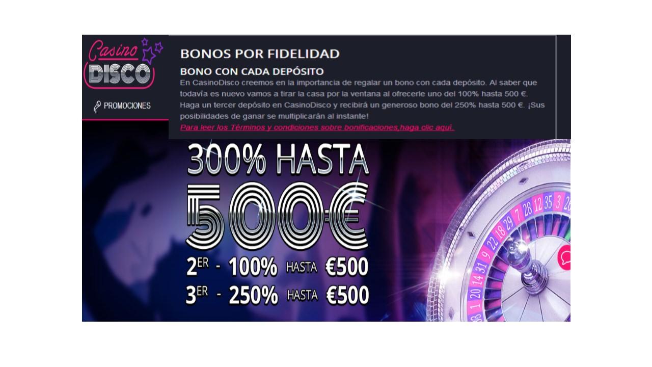 Casino Disco tiene un bono de fidelidad fantástico