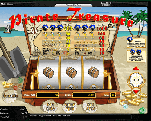 slot Pirate Treasure