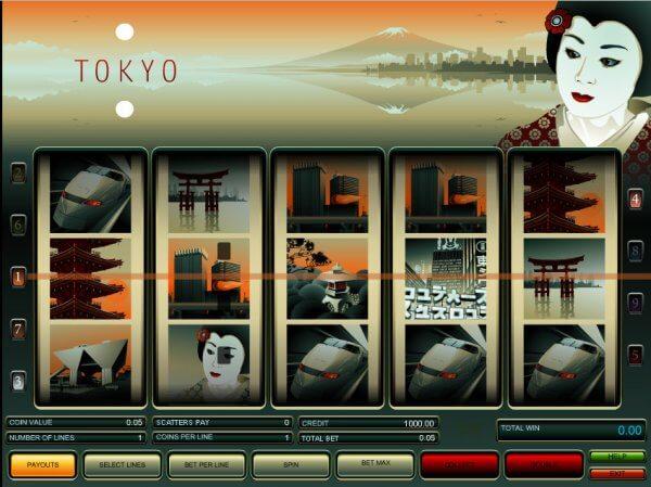 tragamonedas Tokio