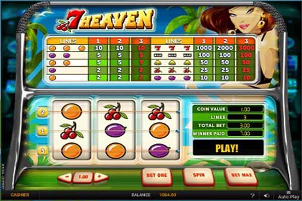 7 Heaven tragamonedas