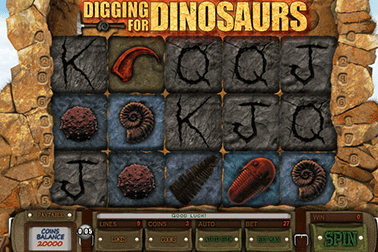 tragaperras Digging for Dinosaurs