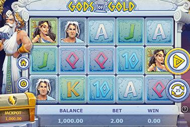 tragaperras Gods of Golds
