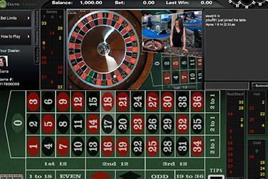 slot Live European Roulette