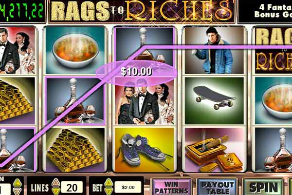 Rags to Riches tragamonedas