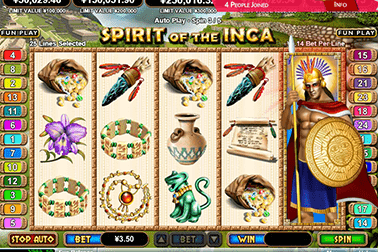 slot Spirit of the Inca