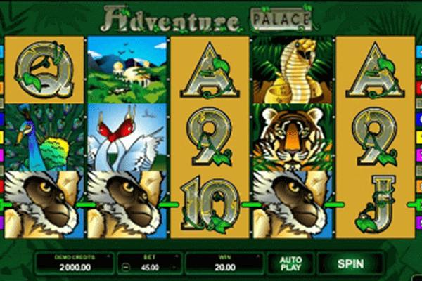 Adventure Palace tragamonedas