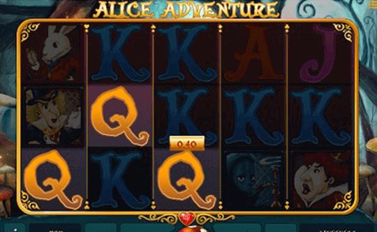 Alice Adventure tragamonedas