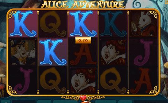tragaperras Alice Adventure