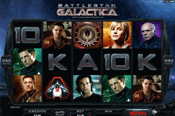 tragaperras Battlestar Galactica