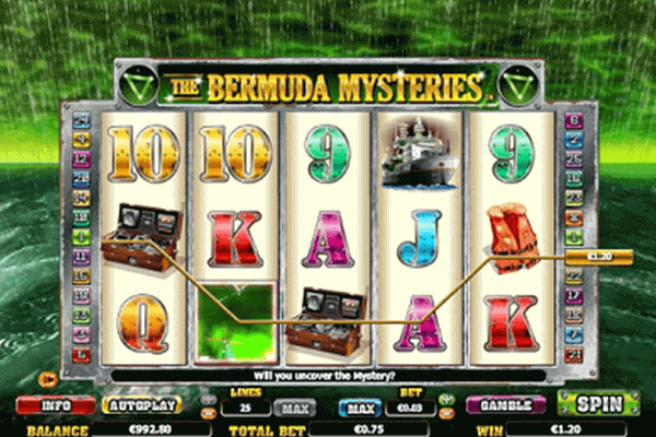 tragaperras The Bermuda Mysteries