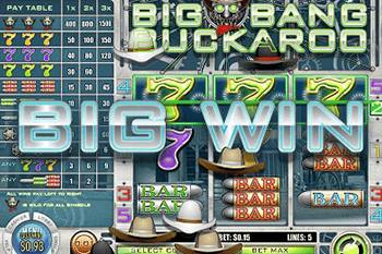 Big Bang Buckaroo tragamonedas