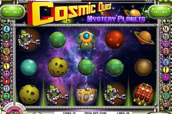tragaperras Cosmic Quest II: Mystery Planets