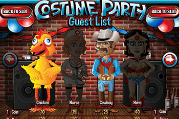 tragaperras Costume Party
