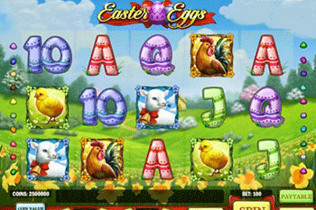 Easter Eggs tragamonedas