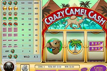 tragaperras Crazy Camel Cash