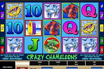 tragaperras Crazy Chameleons