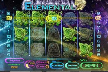 Elemental 7 tragamonedas