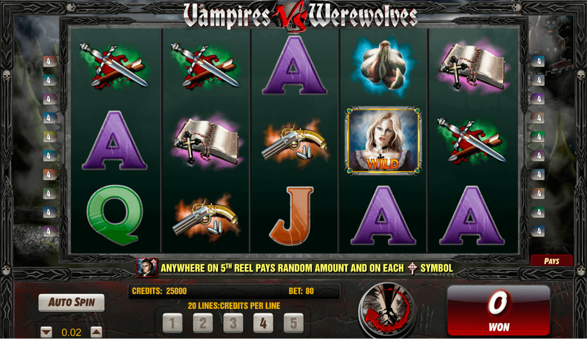 Tragaperras Vampires vs. Werewolves