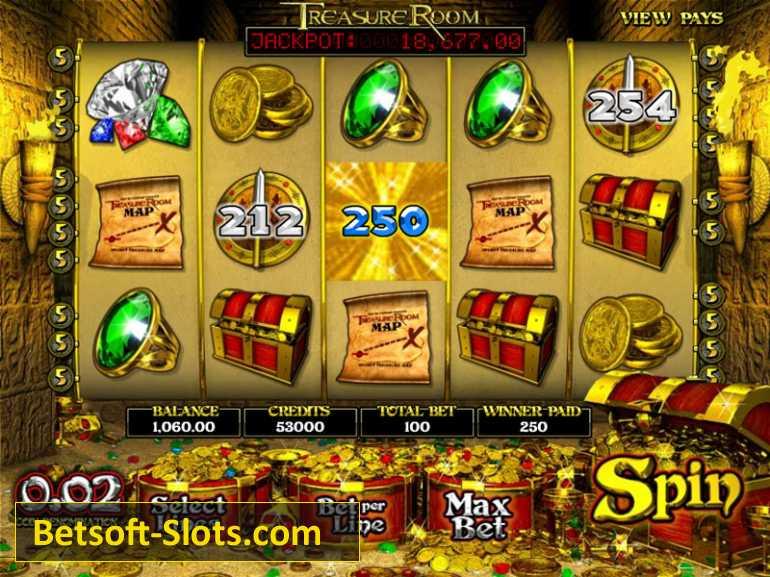 Slot Treasure Room
